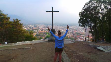 The Famous Cross at Cerro De La Cruz