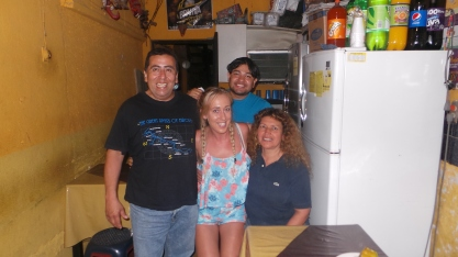 Our family :-) Me with Violeta, Fernando and Raffiel x