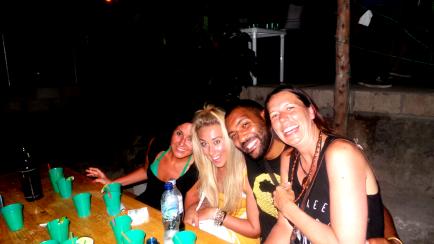 Alisha, Me, Nkosi and Megan