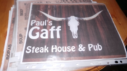 The fabulous restaurant